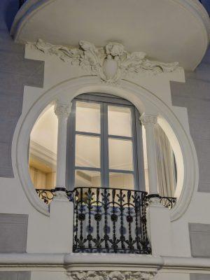 columnas art nouveau